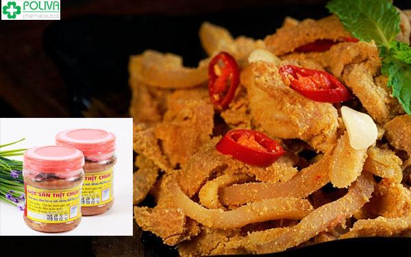 Đặc sản thịt chua Thanh Sơn Phú Thọ rất nổi tiếng