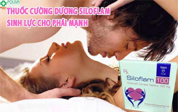 Thuốc cường dương Ấn Độ Siloflam có giá bán không quá đắt