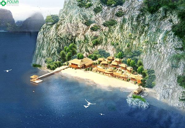 Đảo Nam Cát mang một vẻ đẹp quyến rũ đến lạ kỳ