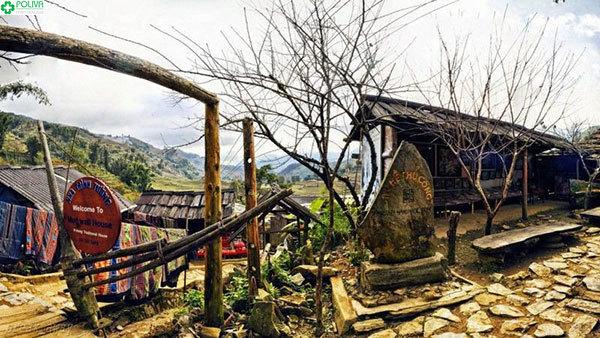 """""""Nhà Trình Tường"""" với kiến trúc đặc trưng của người H'Mông"""