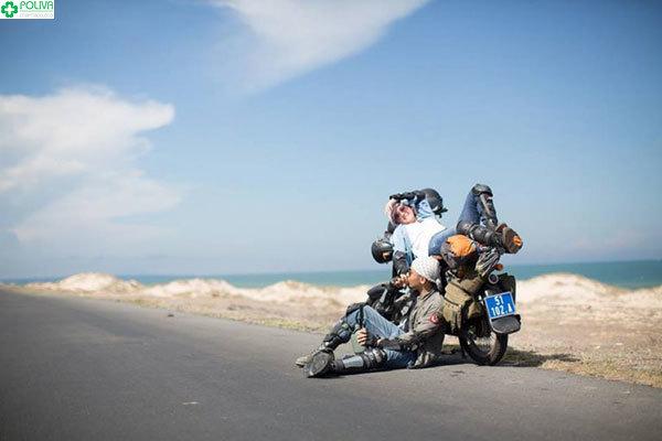 Phượt bằng xe máy cũng là một trải nghiệm thú vị