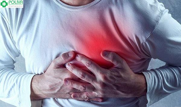 Biến chứng tim mạch có thể xảy ra ở người dùng thuốc cường dương tức thì