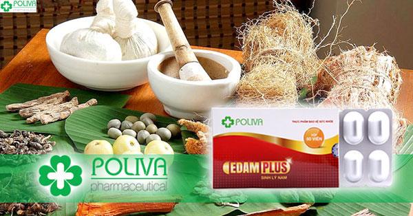 Poliva Edam Plus thành phần dược liệu thiên nhiên cải thiện sinh lý nam tốt nhất