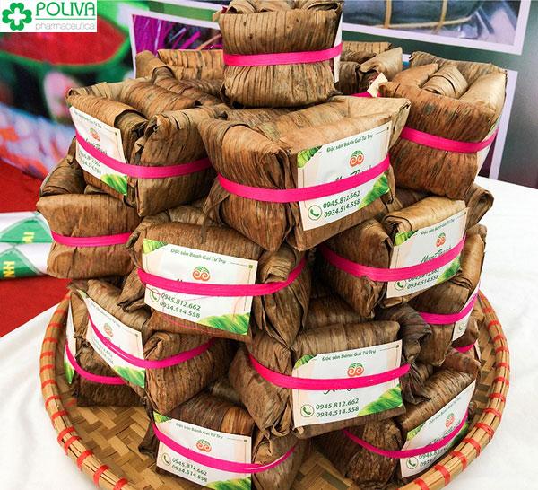Bánh gai Tứ Trụ ngon nổi tiếng khắp vùng