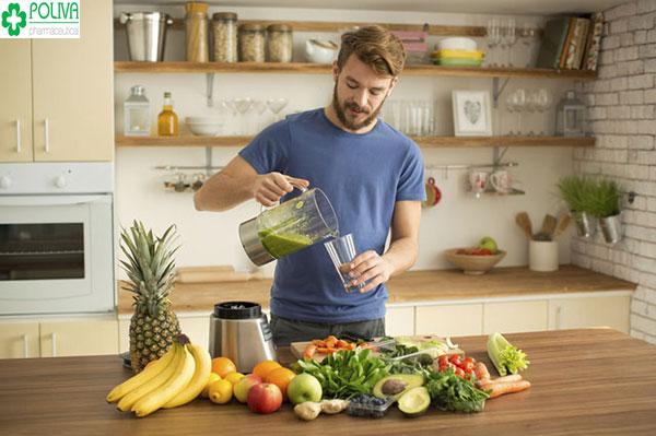Chế độ sinh hoạt hợp lý giúp chức năng sinh lý của nam giới được cải thiện