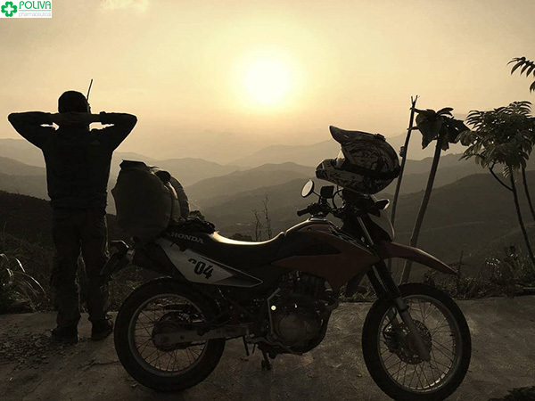 Phượt đèo Pha Đin bằng xe máy là một trong những trải nghiệm hấp dẫn nhất.