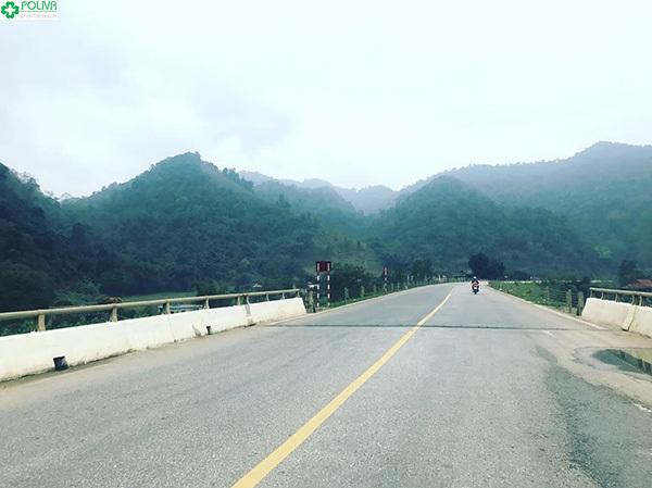 Hướng đi Vườn Quốc gia Cúc Phương.