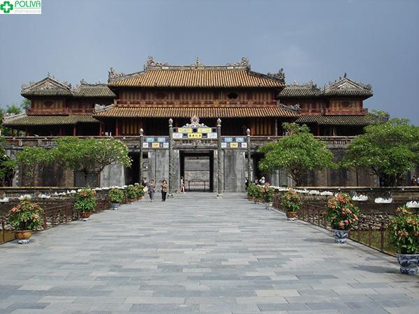 Điện Thái Hòa - nơi vua đăng quang ngôi vị.