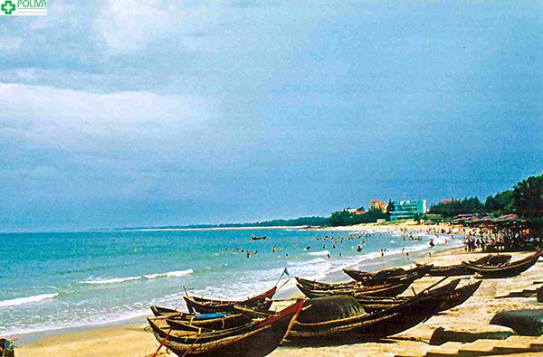 Vẻ đẹp của bãi biển Cửa Lò sẽ khiến bạn say đắm đấy nhé!