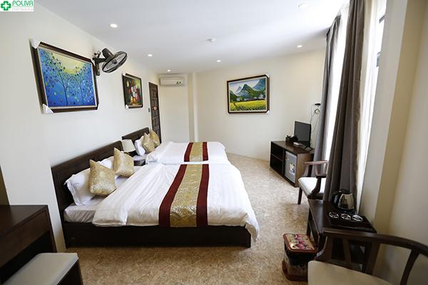 Khách sạn Hoàng Ngọc nhận được rất nhiều review tốt từ khách du lịch Đồng Văn.