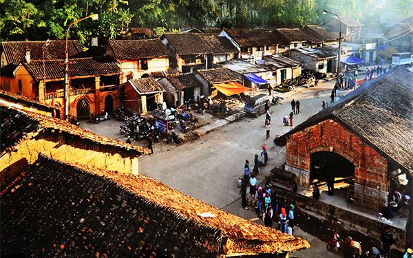 Phố cổ Đồng Văn : Nét kiến trúc xưa còn mãi với thời gian