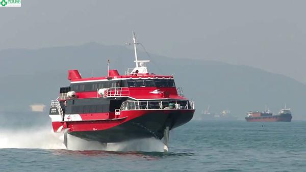 Du lịch biển Trà Cổ bằng tàu cánh ngầm