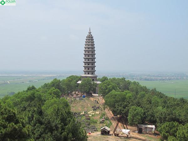 Bảo tháp Chùa Phật Tích.