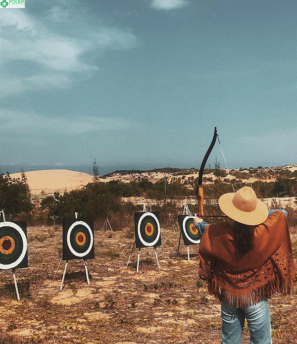 Tham gia bắn cung là một trải nghiệm vô cùng thú vị