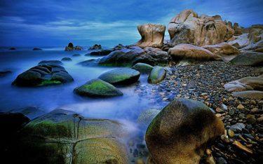 Biển Cổ Thạch: Ngẩn ngơ trước vẻ đẹp kì lạ ít nơi có được