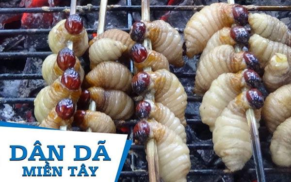 """Đuông dừa – Món ăn """"hút"""" thị và vị giác bậc nhất Bến Tre"""