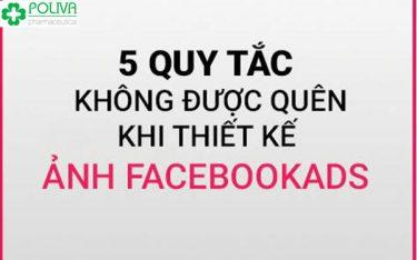 Làm ảnh Facebook ads – Những quy tắc quan trọng cần ghi nhớ