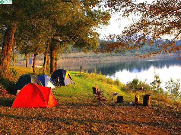 Cùng gia đình và bạn bè cắm trại hồ Kẻ Gỗ vào cuối tuần