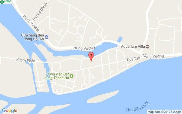 Bản đồ đường tới làng gốm Thanh Hà