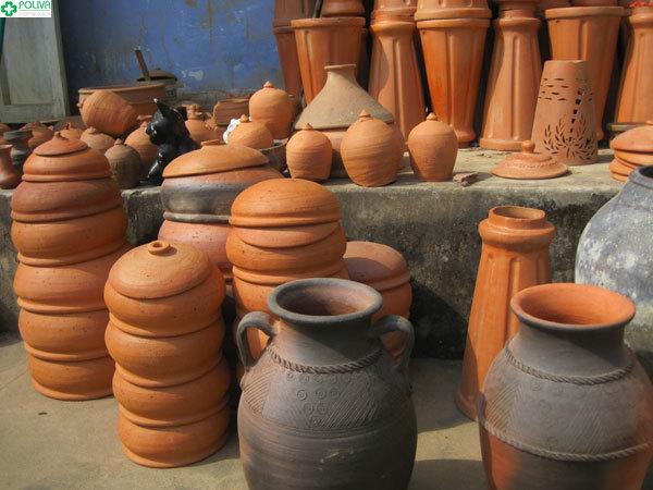 Các sản phẩm chủ yếu của làng gốm Thanh Hà