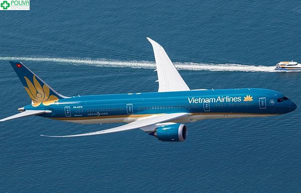 Máy bay là phương tiện di chuyển vô cùng tiết kiệm thời gian.