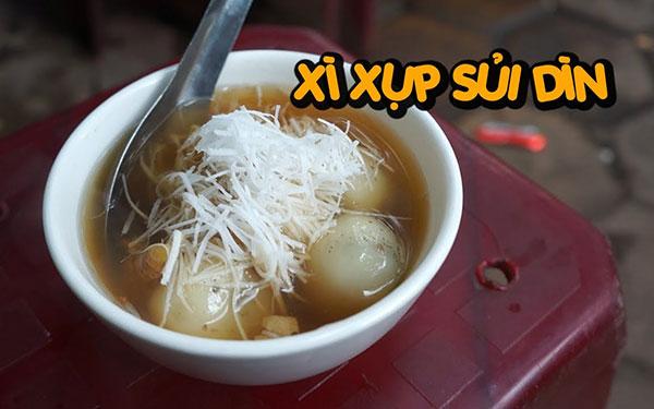 Sủi dìn: Món ngon ấm bụng ngày đông của người xứ Cảng