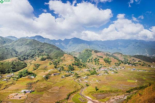 Toàn cảnh thung lũng Mường Hoa làm nức lòng du khách
