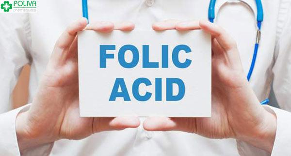 Axit folic rất quan trọng cho sự phát triển môi trường của bào thai