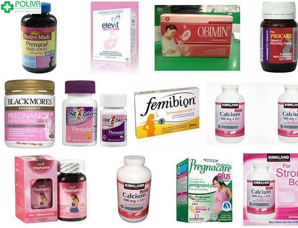 Các dòng sản phẩm uy tín hỗ trợ mẹ sớm mang thai