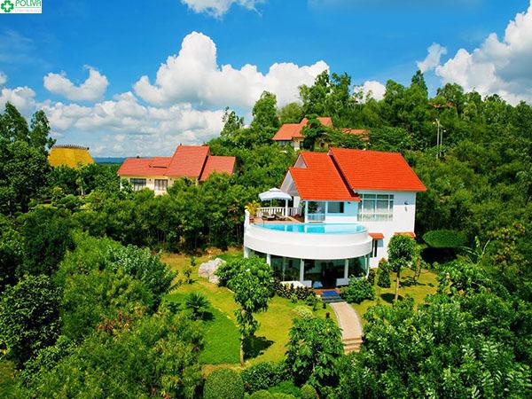 Vietstar Resort sang trọng, trang nhã.