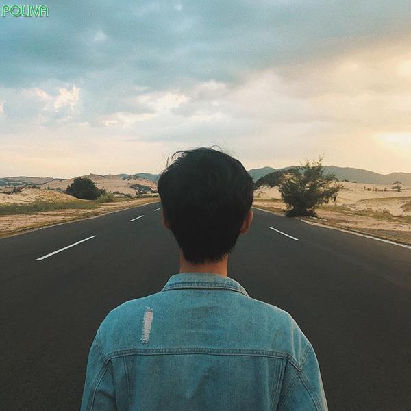 Cung đường tới Đầm Môn vô cùng đẹp đấy nhé!.