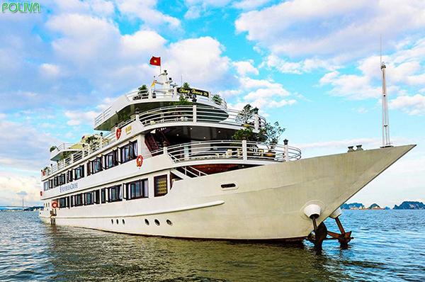 Du thuyền HaLong Silver Sea sẽ cho du khách trải nghiệm nghỉ dưỡng thú vị khó quên trên biển Tuần Châu.