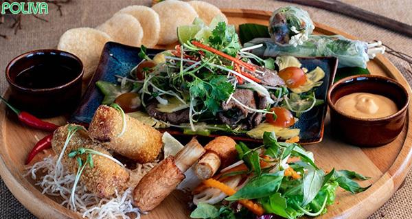 Bomarang Bistro phục vụ rất nhiều món nướng hấp dẫn.