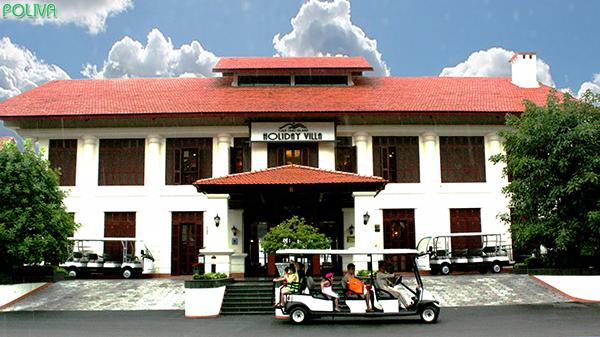 Tuan Chau Holiday Villa với khu biệt thự sang trọng tuyệt đẹp.