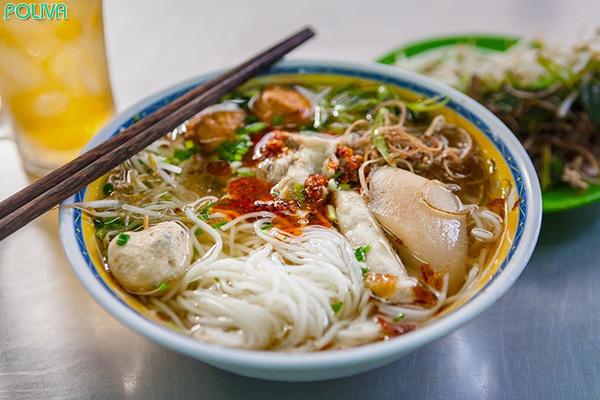 Bún mọc Kim Sơn mang hương vị ngon miệng khó quên.
