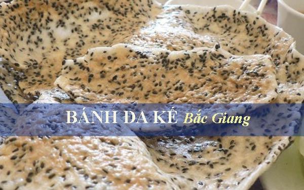 Bánh đa Kế Bắc Giang thơm giòn rụm ăn là mê