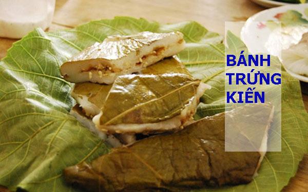 Bánh trứng kiến độc lạ ngon hết nấc của xứ Cao Bằng