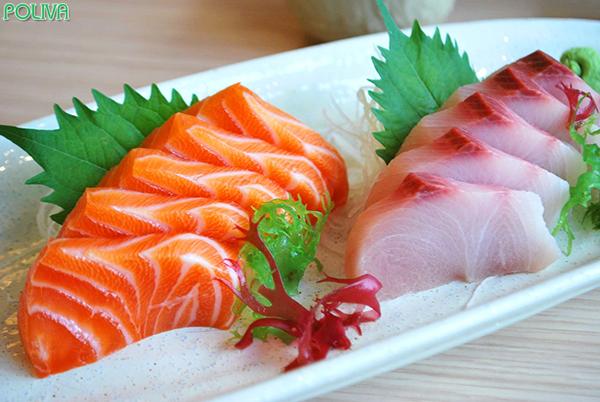 Đừng quên thưởng thức cá hồi tươi ngon bạn nhé!.