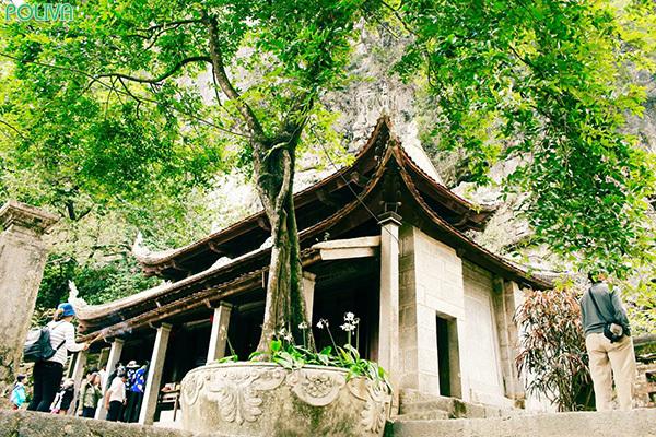 Kiến trúc Chùa Hạ.