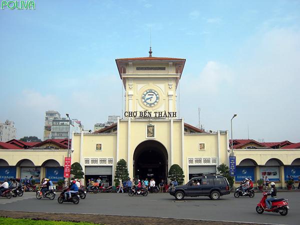 Chợ Bến Thành là biểu tượng của Sài Gòn.