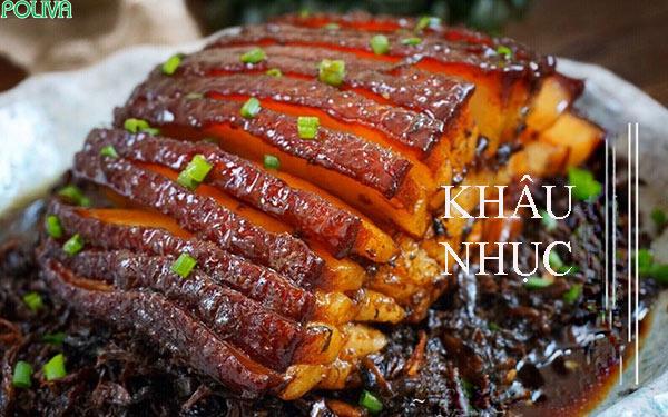 Khâu nhục là món ăn nổi tiếng ở Lạng Sơn