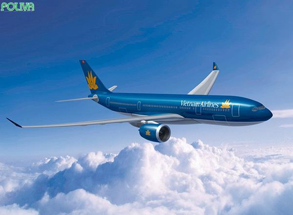 Máy bay là phương tiện di chuyển nhanh chóng và tiện lợi.