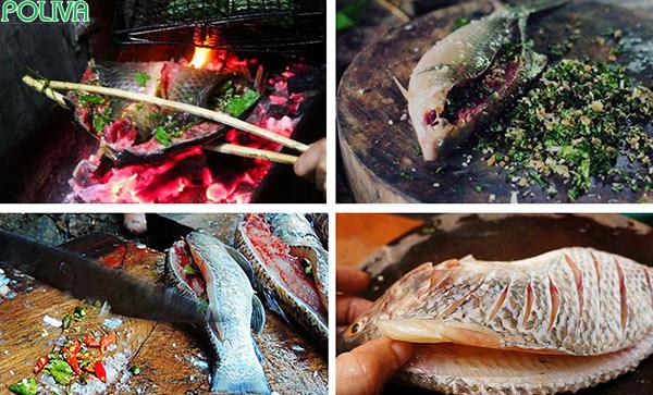 Từ khâu chế biến cho tới nướng cá