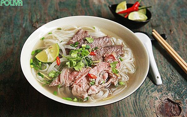 Phở bò Nam Định rất được yêu thích ở miền Bắc