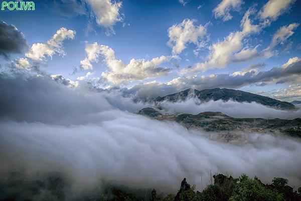 """Sân mây đẹp tựa """"thiên đường"""" không có thực."""