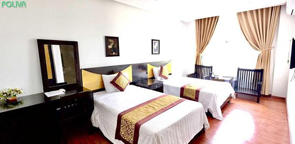 Sunsea Hotel có phòng ốc khá sạch sẽ, tiện nghi.