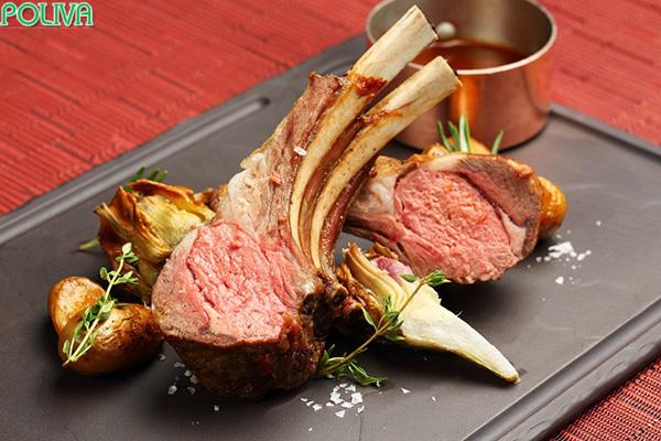 Thịt cừu Ninh Thuận được rất nhiều du khách yêu thích.