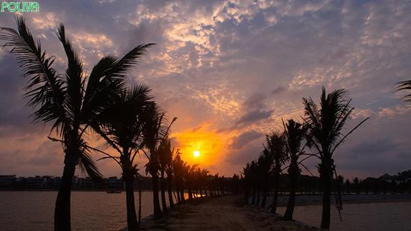 Vẻ đẹp của biển Tuần Châu.