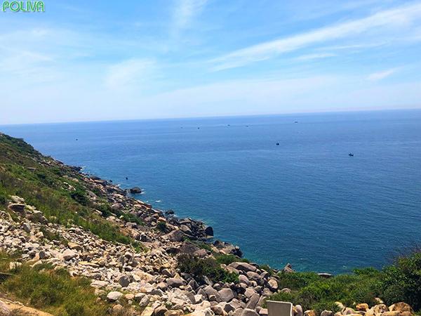 Bình minh tuyệt đẹp trên biển Vũng Rô.