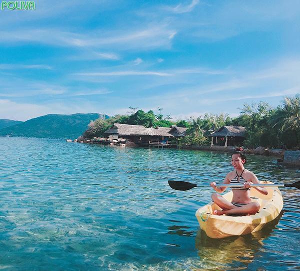 Vẻ đẹp của Whale Island Resort.